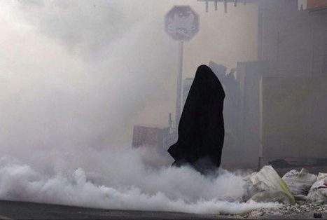 Al-Khalifa terrorists suffocate women on the streets...... | Human Rights and the Will to be free | Scoop.it