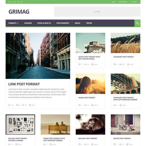 Grimag WordPress Theme | WordPress Theme Download | Best WordPress Themes 2013 | Scoop.it