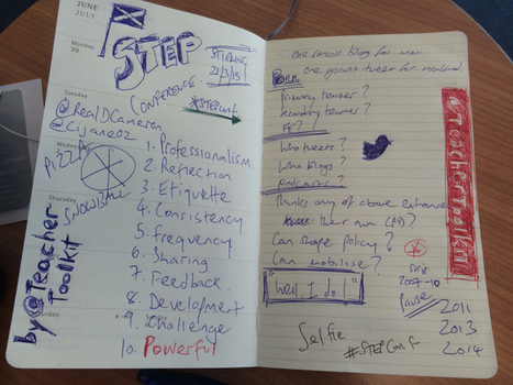 One Small Tweet for Teachers, One Giant Blog for Teaching by @TeacherToolkit | Collaborating & Projects | Scoop.it