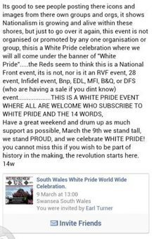 South Wales White Pride World Wide Celebration | The Indigenous Uprising of the British Isles | Scoop.it