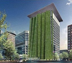 Federal Stimulus Will Fund Portland's 250-foot-tall Green Wall | Vertical Farm - Food Factory | Scoop.it