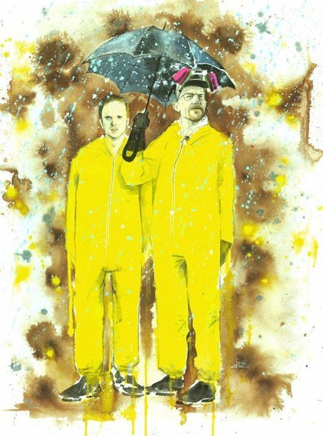 When Entertainment Marketing Is Art: See Work From The Breaking Bad Art Project | digitalassetman | Scoop.it