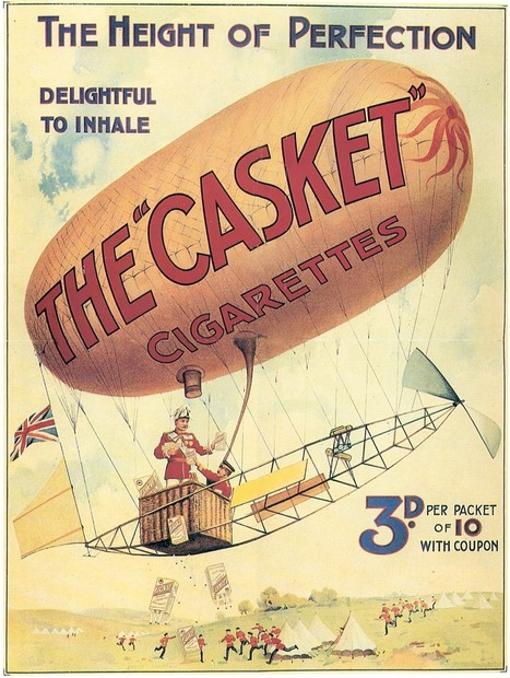 Casket cigarettes | A Cultural History of Advertising | Scoop.it