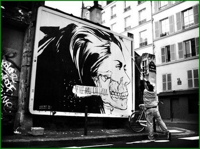 Monsieur Qui - Street Art | Inspirations graphiques | Scoop.it