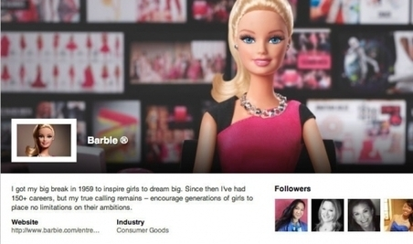 Barbie se crée un profil Linkedin | SEO et Social Media Marketing | Scoop.it