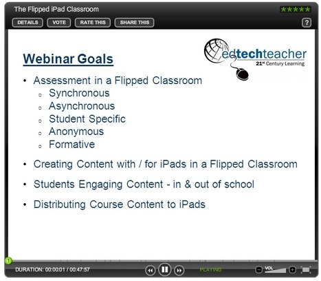 The Flipped iPad Classroom | BrightTALK | iPad and PE | Scoop.it