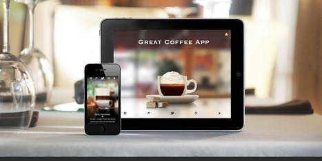 Great Coffee App | Benchmark Mobile User Interface | Scoop.it