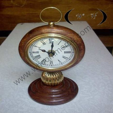 Wooden Nautical Clock   wooden nautical item   Scoop.it