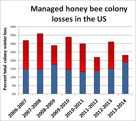 Colony Loss 2013-2014 | Bee Informed Partnership | Chemistry Regulation | Scoop.it