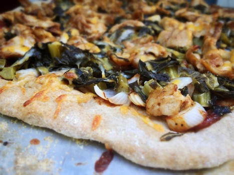 BBQ Chicken and Collard Green Pizza | On The Grill | Scoop.it