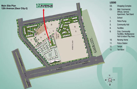 Gaur City 2 12th Avenue Master Plan | Gaur City 2 12th Avenue | Scoop.it