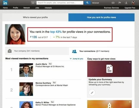 Linkedin classe chaque profil par rapport à ses propres contacts - #Arobasenet | Social media | Scoop.it