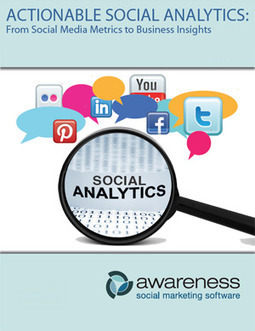 Actionable Social Analytics: From Social Media Metrics to Business Insights [White Paper]   BI Revolution   Scoop.it