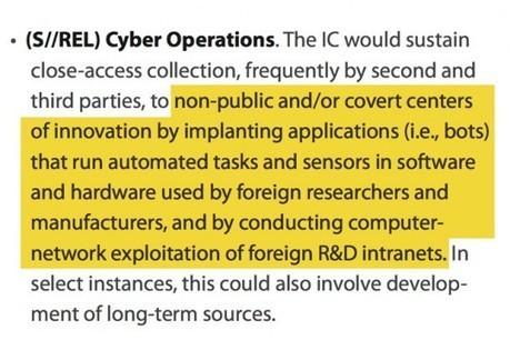The U.S. Government's Secret Plans to Spy for American Corporations - The Intercept | TECNOLOGÍAS DE LA INFORMACIÓN Y LAS COMUNICACIONES | Scoop.it