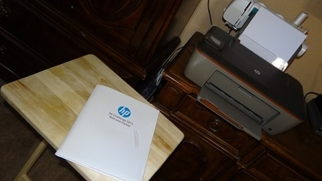 Ever wonder about refillable ink cartridges? Read about my HP #InkChallenge #sponsored | Printer Cartridges | Scoop.it