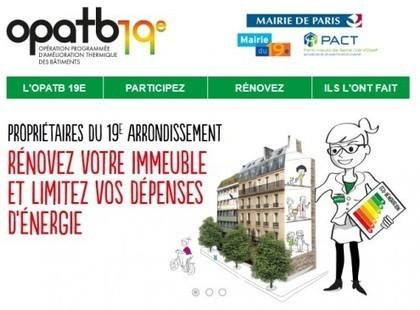 Paris lance le plus grand programme de rénovation thermique de logements privés en France - Logement | Copro en difficulté | Scoop.it
