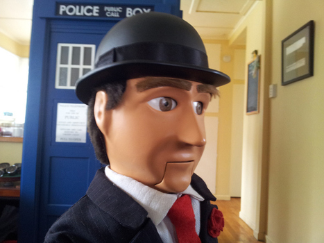 Amazing Arduino-Powered Avengers John Steed Puppet | Raspberry Pi | Scoop.it