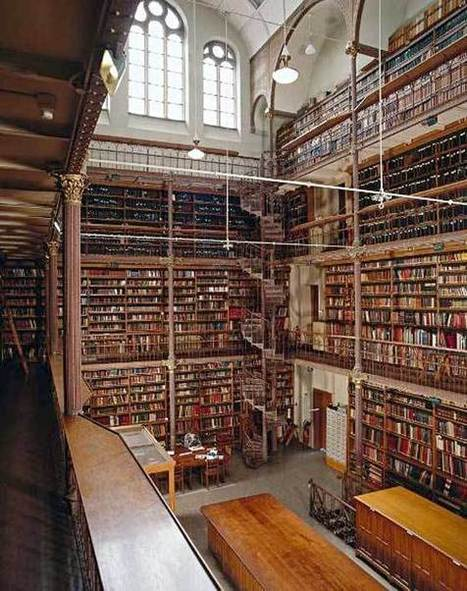 Gerestaureerde Cuypersbibliotheek in het Rijksmuseum wordt opengesteld voor bezoekers | Boekendingen… | Bibliotheek 2.0 | Scoop.it