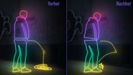 Allemagne: de la peinture anti-pipi sur les murs de Hambourg | Allemagne | Scoop.it