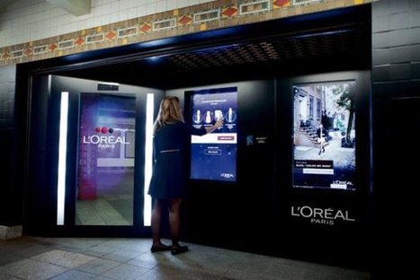 L'Oréal Vending Machine Doles Out Beauty Products To Subway ... | Digital for smart retail | Scoop.it