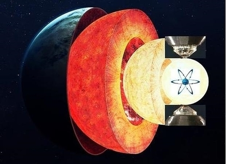 Los átomos desvelan nuevas pistas sobre el «origen caliente» del centro de la Tierra | Biología de Cosas de Ciencias | Scoop.it