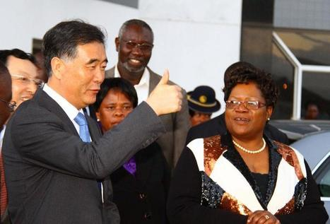 Chinese vice premier starts official visit to Zimbabwe - People's Daily Online | International relations | Scoop.it