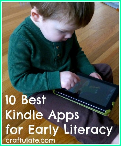 "10 Best Kindle Apps for Early Literacy - Craftulate | Learning and literacy - of the ""e"" type ie eLearning and Early Literacy 