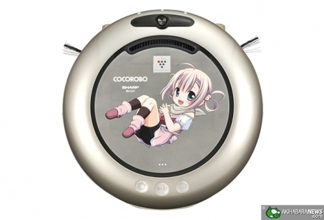 Sharp - Younger sister-like home cleaning robot | AI, NBI, Robotics & Cybernetics & Android Stuff | Scoop.it