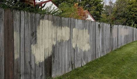 Fence mural stirs controversy in Warrenville | New age bamboo solutions | Scoop.it