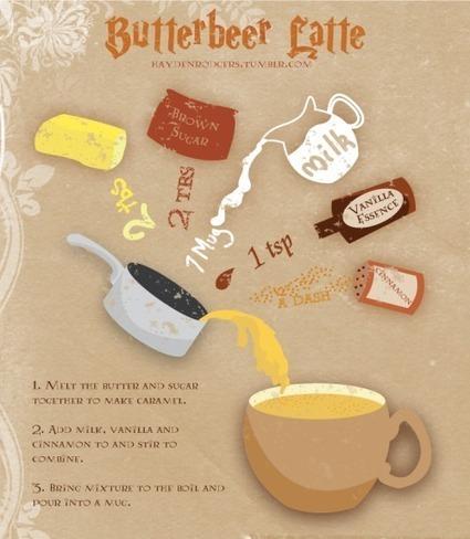 Recipe for Butterbeer | Food | Scoop.it