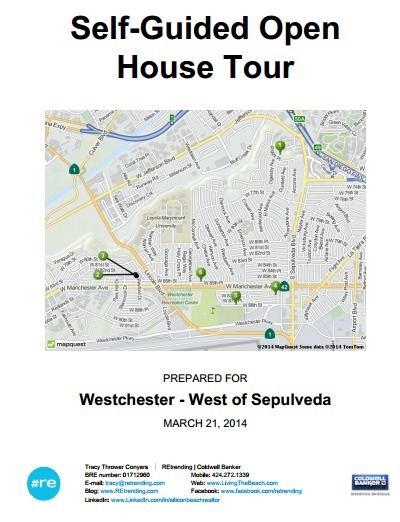 Self-Guided Open House Tour - Westchester CA Real Estate (West of Sepulveda) | 90045 Trending | Scoop.it