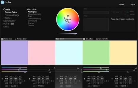 Herramientas de combinación con colores para diseñadores | Blog ... | my tecno & xarxa socials | Scoop.it