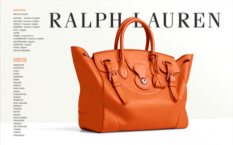 Ralph Lauren | Luxury Fashion Designer | Scoop.it