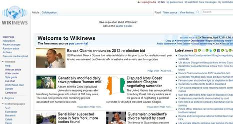 Wikinews, the free news source | Top sites for journalists | Scoop.it