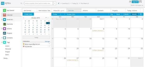 IQTell : un dashboard complet pour gérer vos tâches quotidiennes | Time to Learn | Scoop.it