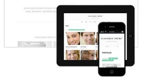 Classique Portfolio WordPress Theme | Free & Premium WordPress Themes | Scoop.it