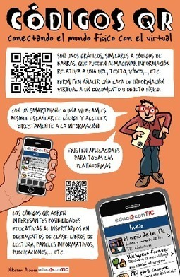 Los códigos QR se pueden usar en la educación #infografia #infographic #marketing #education | Boletín Biblioteca Ciencias de la Educación. Universidad de Sevilla | Scoop.it