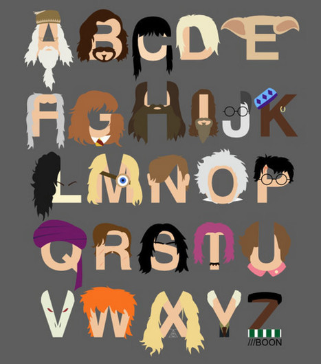 Harry Potter, TMNT, Simpsons And Pixar Alphabets | Geekologie | Random stuff (music&books&other) | Scoop.it