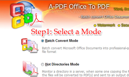 How to Convert MS Office file to PDF and Add Security? [A-PDF.com] | Batch Convert Microsoft Office Word,Excel documents to PDF | Scoop.it