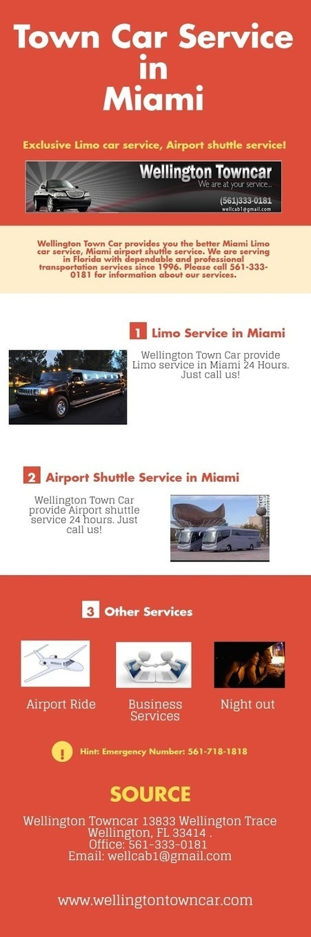 Wellington Town Car: Town Car Service in Miami | Business and News | Scoop.it
