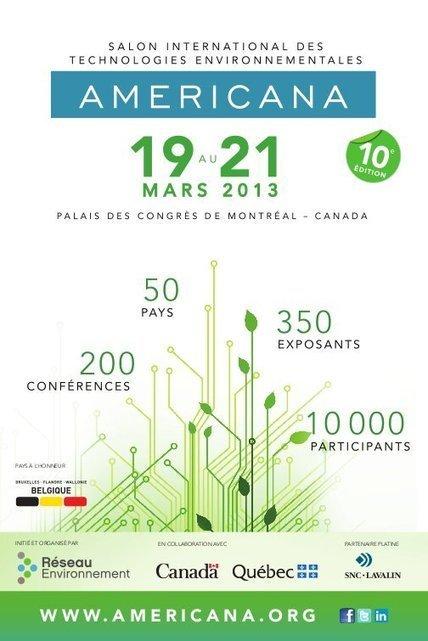 AMERICANA – 19 au 21 mars 2013 – MONTRÉAL (CANADA ...   Élément terre   Scoop.it