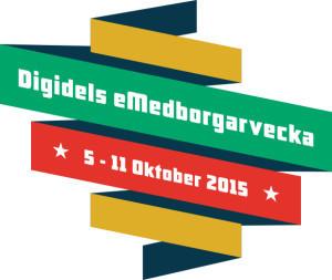 Fantastiskt intresse för eMedborgarveckan 5 - 11 okt 2015! |  Digidelnätverket | Seniornet Sweden | Scoop.it