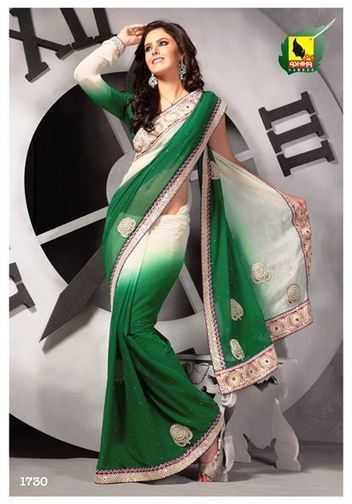 Party wear sarees online | Indian Women Clothing | Scoop.it