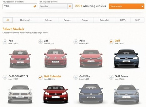 Nine examples of search tools from automotive websites | Writing for the web & content marketing | Scoop.it