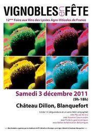 Foire aux vins des Lycées Agro-viticoles de France : 12ème ... | Vins et Vignerons | Scoop.it