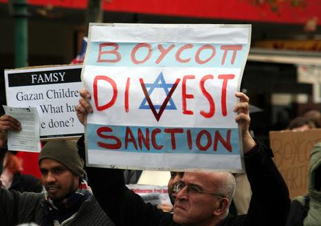 CNA: BOICOT a ISRAEL - 352 organizaciones europeas piden a la UE unirse al BDS | La R-Evolución de ARMAK | Scoop.it