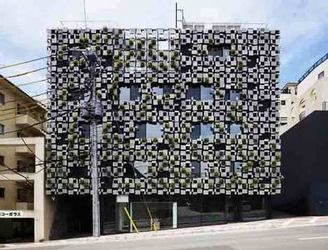 Green Walled Facade Conceals Building's Mechanicals | Urban Gardens | Unlimited Thinking For Limited Spaces | Urban Gardens | Annie Haven | Haven Brand | Scoop.it