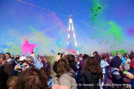 Pont de Saint-Nazaire 40ème anniversaire en couleurs - Thierry WeBer PhotoGraphe | Ils parlent de la Loire-Atlantique | Scoop.it