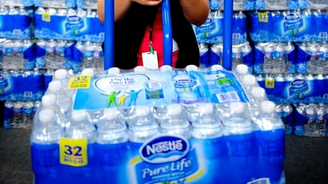 Amid drought, environmentalists want Nestlé to stop water taking in Aberfoyle, Ont. | water news | Scoop.it