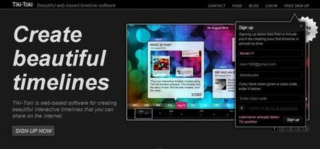 Tutorial: Crea bellas y poderosas líneas de tiempo en 3D con Tiki-Toki | Innovación,Tecnología y Redes sociales | Scoop.it
